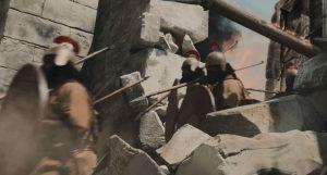 Asirienii invadează şi distrug Samaria