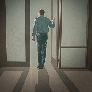 JW:org prezintă un Martor care se retrage din organizaţie: un bărbat care acum poartă haine de stradă.